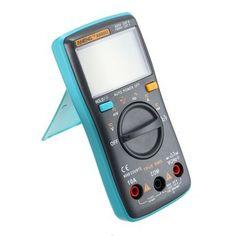 ANENG AN8002 Digital Ture RMS 6000 Compteurs Multimètre AC / DC Courant Tension Fréquence Résistance Test de température ℃ / ℉