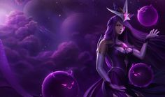 League Fan Art Showcase - Star Guardian Syndra, domeano