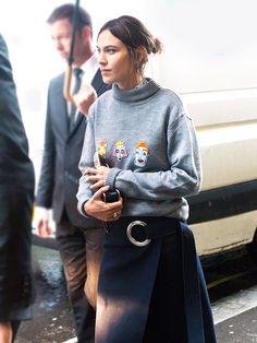 6 Days, 10 Looks: See Alexa Chung's Best Fashion Week Outfits via @WhoWhatWearUK