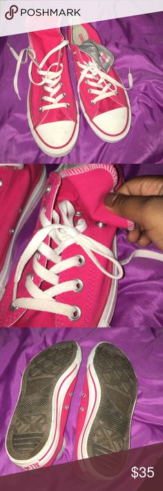 converse ❗️I'm taking offers❗️ These shoes are definitely one to make a statement! They bring life to any outfit. I have worn them twice before but they almost look new and are in great shape. Converse Shoes Sneakers