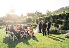Romantic San Ysidro Ranch wedding | photo by Linda Chaja | 100 Layer Cake