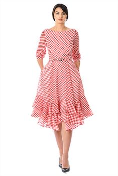 Buy women's dresses for this season at eShakti. Shop casual dresses, long or short dresses, and knit or woven cotton dresses to fit your size and style Cheap Semi Formal Dresses, Cheap Summer Dresses, Casual Frocks, Casual Dresses, Custom Dresses, Vintage Dresses, Chifon Dress, Western Wear Dresses, Floral Shirt Dress