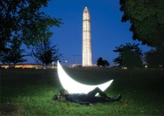 Carrying the moon has made Russian artist Leonid Tishkov a star - posted by Scott Peck   scottmuseum@gmail.com