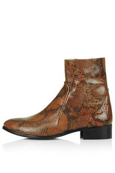 AERO Snake-Effect Sock Ankle Boots Price: 103,00 €