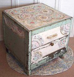 Vintage mint cabinet