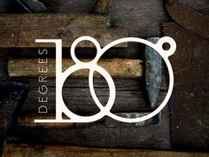 project365 #114 180 Degrees Logodesign. I seriously love this logo! Everything about it is fantastic.