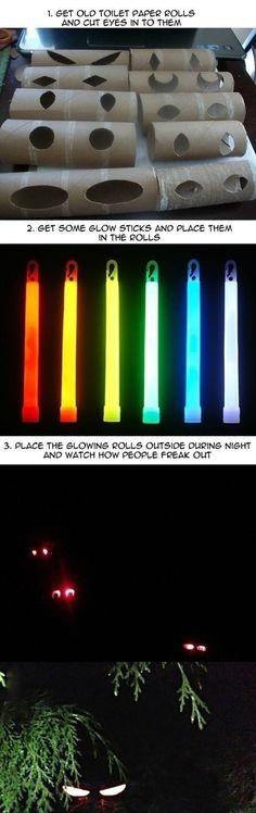 Great Halloween Idea!