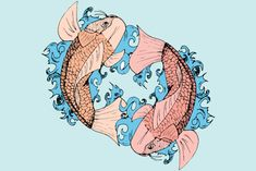 Whether a koi in a tattoo is swimming upstream or downstream can impact its meaning.