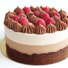Triple Chocolate Mousse Cake, Cake Photography, Vegetarian Keto, Fika, Lean Protein, Cakes And More, How To Make Cake, Healthy Dinner Recipes, Cheesecake
