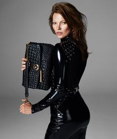 Black/ Kate Moss for Versace FW 2013/ Campaign FW 2013