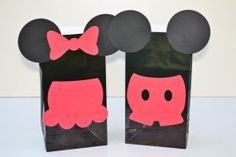 Minnie/ Mickey Mouse Goody Bags by HokeyPokeyPapers on Etsy, $1.75