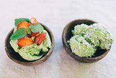 How to Green | Рецепт мороженого из авокадо и киви