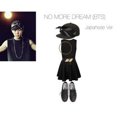 No More Dream (JAPANESE VERSION) (BTS) - Jimin Inspired Outfit by dirtydiana143 on Polyvore featuring Mode, MANGO, Rare London, Boohoo, River Island and Electric