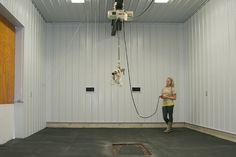 Equine surgery room - Renfro Veterinary Services, Richmond, Mo. - small animal, equine, and livestock practice