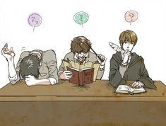 Harry Potter, James Potter, Sirius Black, Remus Lupin