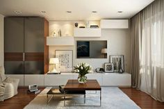 Amenajarea superba a unui apartament cu 2 camere de 45 mp- Inspiratie in amenajarea casei - www.povesteacasei.ro