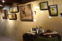 Our first artist showing in the Little Gallery, Muriel Timmins. Southwest Nature oils, watercolors and pencil. 2013/2014 Season #NationalHistoricDistrict #DeGrazia #Artist #Ettore #Ted #GalleryInTheSun #ArtGallery #Gallery #Adobe #Architecture #Tucson #Arizona #AZ #Catalinas #Desert #LittleGallery #Exhibition