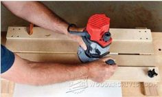 Dado Router Jig Plans - Joinery Tips, Jigs and Techniques - Woodwork, Woodworking, Woodworking Plans, Woodworking Projects