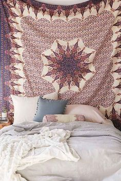 Shop our tapestry collection here at UrbanOutfitters.com. Find cool ikat prints, floral designs, and medallion patterns to complete your apartment décor.