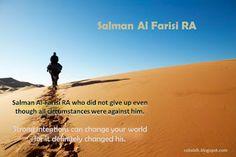 THE COMPANION: Salman Al Farisi RA, the True Seekers of Knowledge.