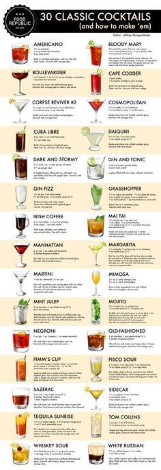 Not beer but still it's good to know how to whip up a cocktail!