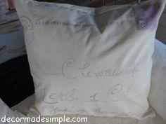 Vintage Postage Stamp Throw Pillows