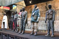 Jyn Erso - Rogue One costume display at SDCC