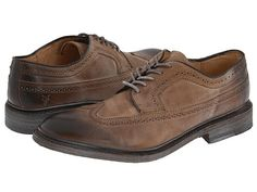 Frye James Wingtip Tan - 6pm.com