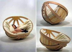 Palm couch...