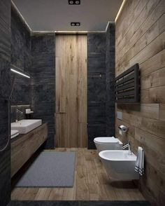 Modern Bathroom Have a nice week everyone! Today we bring you the topic: a modern bathroom. Do you know how to achieve the perfect bathroom decor? Bathroom Lighting Design, Modern Bathroom Design, Bathroom Interior Design, Modern Interior, Home Lighting Design, Minimal Bathroom, Restroom Design, Bathroom Designs, Bad Inspiration
