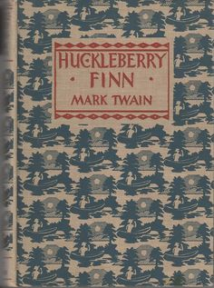 huckleberry finn- American literature comes from one book by Mark Twain called Huckleberry Finn.""