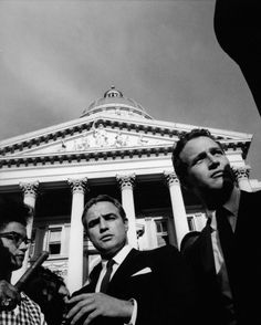 Brando and Newman at the March on Washington - The 60s Bazaar