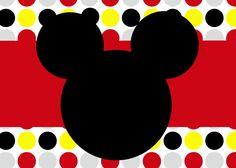Invitaciones de cumpleaños de Mickey Mouse imprimibles