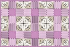 Shoo Fly Place Mat Version 4 Once again Im playing with the idea that quilting can change how a...