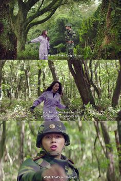 Se-ri trying to escape from Jeong-hyuk in the Korean Drama Crash Landing On You is hilarious! We Fall In Love, Falling In Love, You Funny, Hilarious, Talk To Strangers, Away From Her, Korean Language, How To Start Running, Tv Commercials