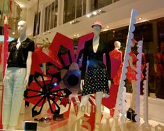 John Galliano, flagship store, pinned by Ton van der Veer