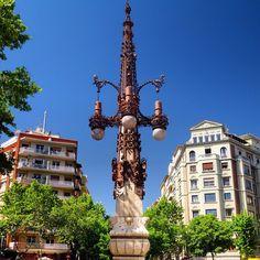 Lamps @ Avinguda de Gaudí, Barcelona