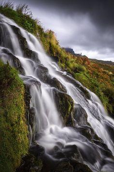 Brides Veil Waterfall - Isle of Skye - Scotland © Andrea Livieri #andrealivieri #livieri  #skye #isleofskye #scozia #scotland #travel #viaggio #paesaggi #paesaggio #canon #canon6d #6d #fullframe #tramonto #colori #natura #sole #estate #summer #nuvole #photography #fotografia #landscapes #landscape #manfrotto #benro #outdoorphotography #outdoor #bridesveil #longexposure #waterfalls #waterfall