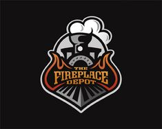 The Fireplace Depot Logo Design