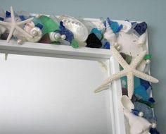 Seashell Mirrors for Beach Decor  Nautical by beachgrasscottage, $900.00