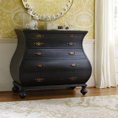 Antiques Gentle 19th Century Satinwood Serpentine Triple Wardrobe Compactum
