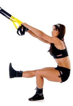 Firm Fitness Trainer: TRX Exercises = Hard Core Work Out!