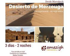 Viajes de Marrakech al Desierto oferta en octubre | Viajes Amazigh Marruecos | Negotiums España