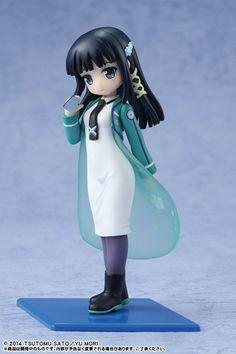 This lovely looking lady is the heroine of Mahōka Kōkō no Yūtōsei,The Irregular at Magical High School.