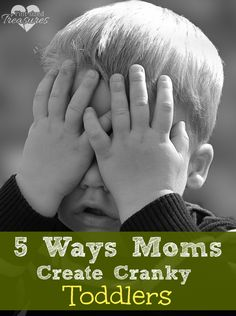 Do you have a cranky, explosive toddler? Could your mothering style be a contributing factor? Here are some honest, mom-to-mom thoughts to consider. #toddlers #parenting #tantrums