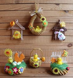 Easter Crafts For Kids, Christmas Crafts For Kids, Christmas Projects, Holiday Crafts, Easter Flower Arrangements, Easter Flowers, Recycled Paper Crafts, Newspaper Crafts, Craft Stick Crafts
