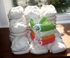 Newborn diaper rentals. Good way to try some new brands and a good way to avoid buying a lot of newborn diapers.