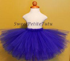 Royal blue tutu, Preemie, Newborn to 10/12 girls, Sweet Petite Tutu, Baby Tutu, Birthday