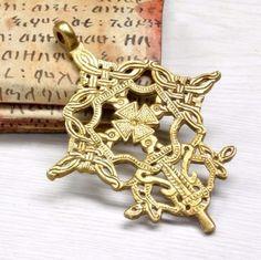 Large-Handmade-Byzantine-Brass-cross