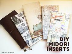 DIY Midori Inserts - LISTLAB
